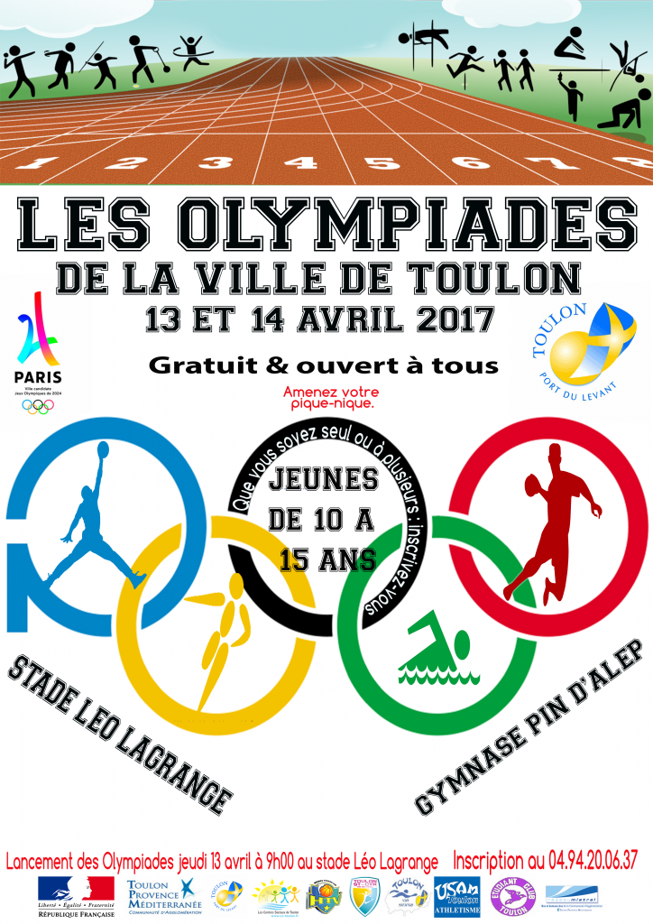 Affiche Olympiade