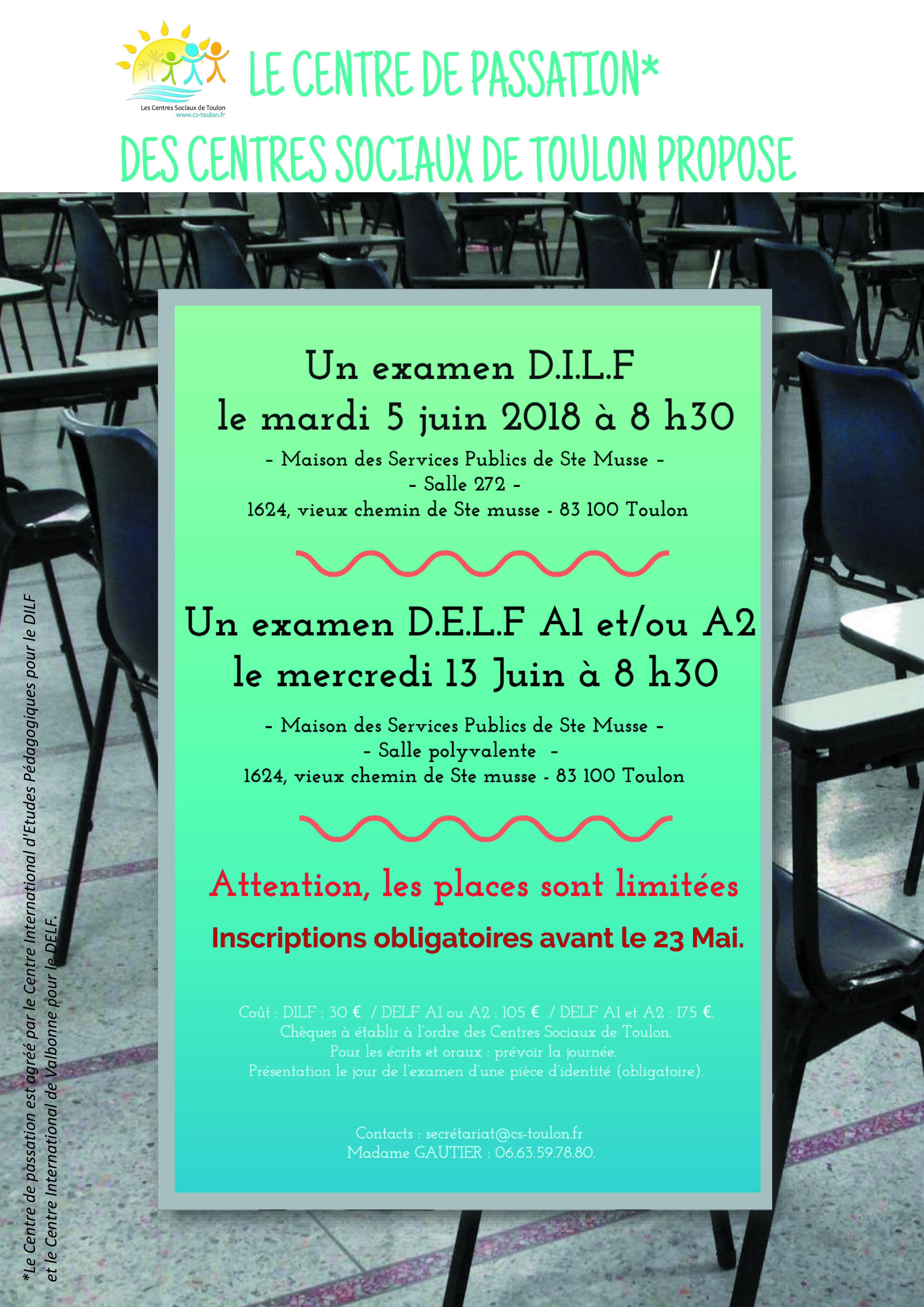 DILF-DELF EXAMENS
