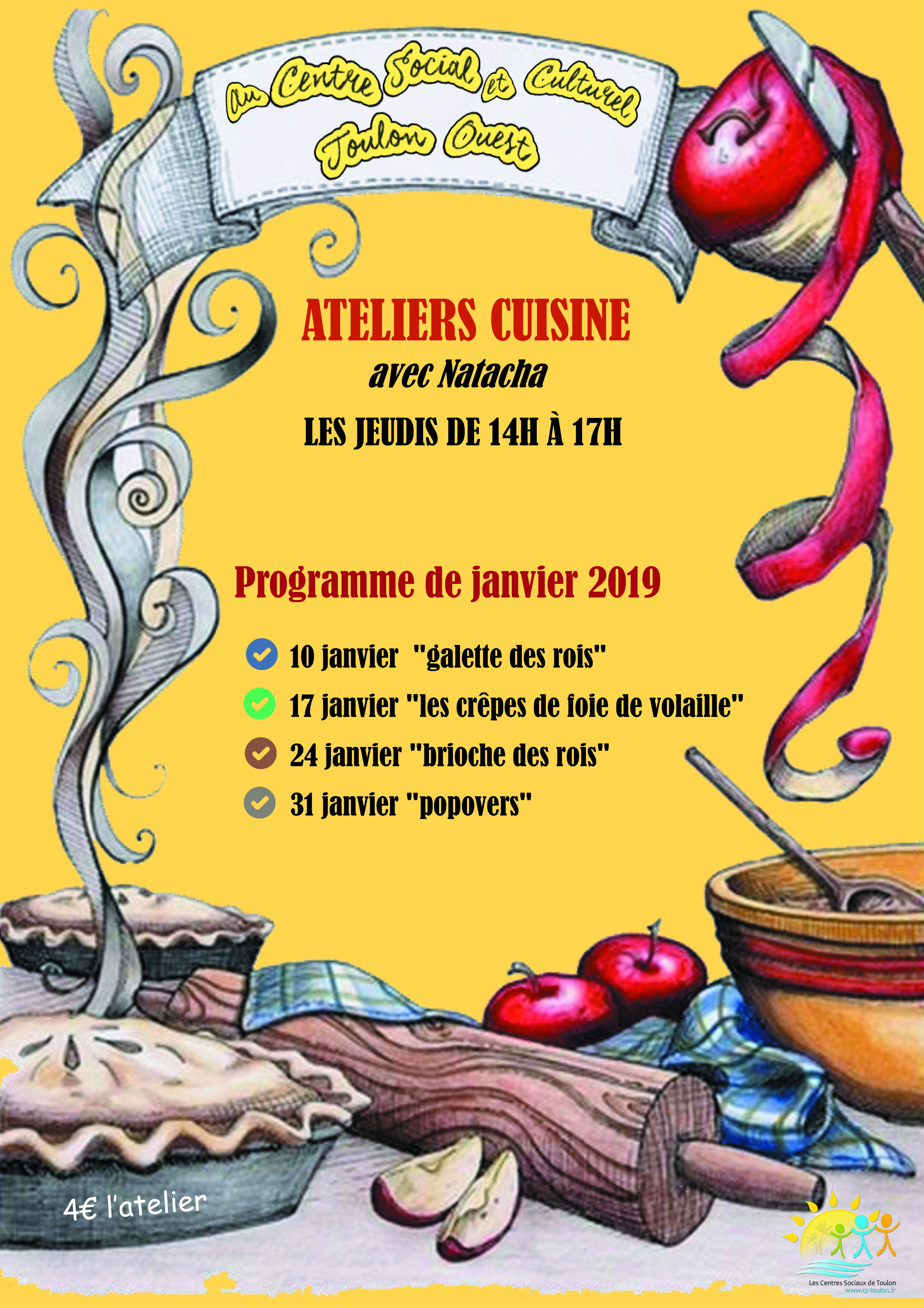 ateliers cuisine janvier 2019 natacha