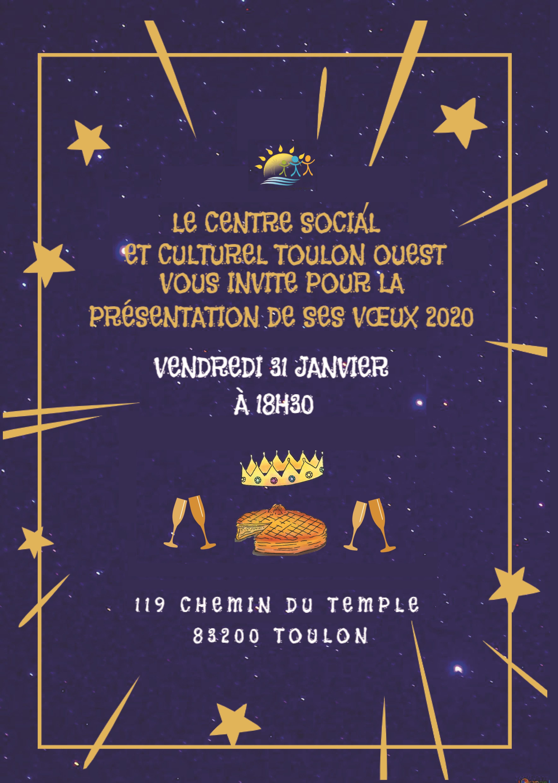Invitation voeux 2020